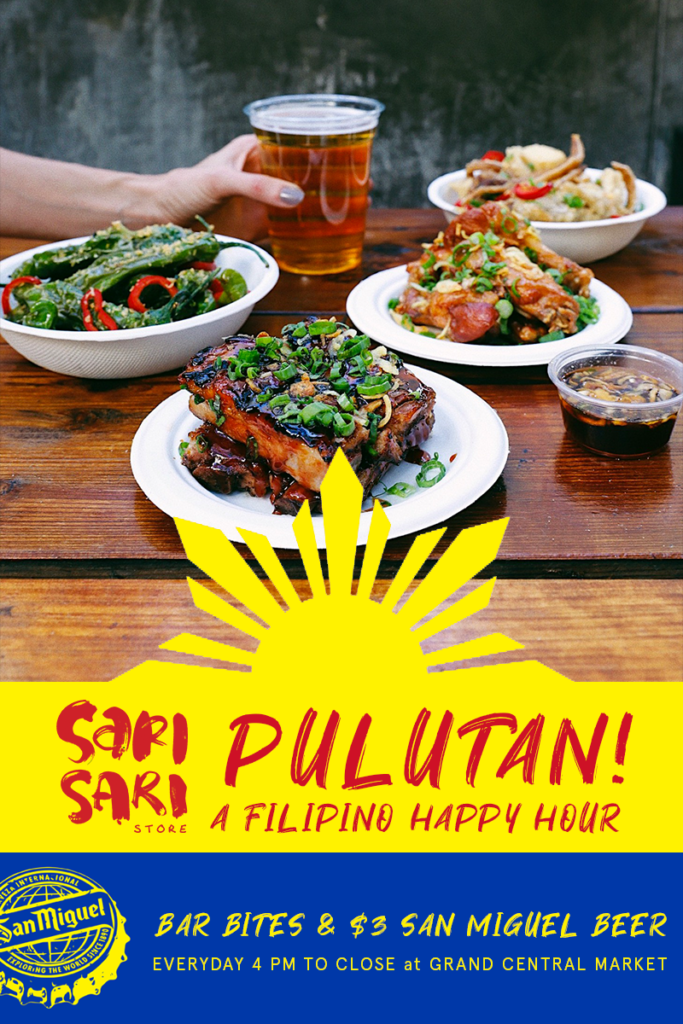 Pulutan! Filipino Happy Hour
